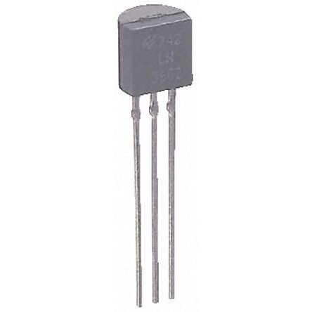 STMicroelectronics , 15 V Linear Voltage Regulator, 100mA, 1-Channel, ±5% 3-Pin, TO-92 L78L15ACZ (50)