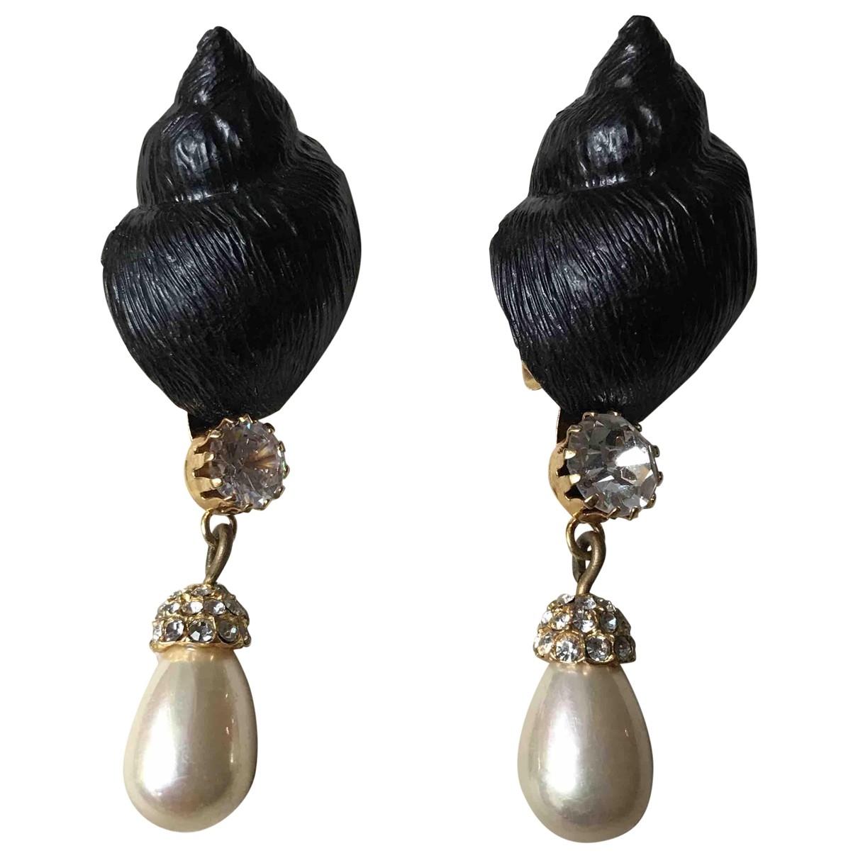 Gianfranco Ferre - Boucles doreilles   pour femme en perles - multicolore