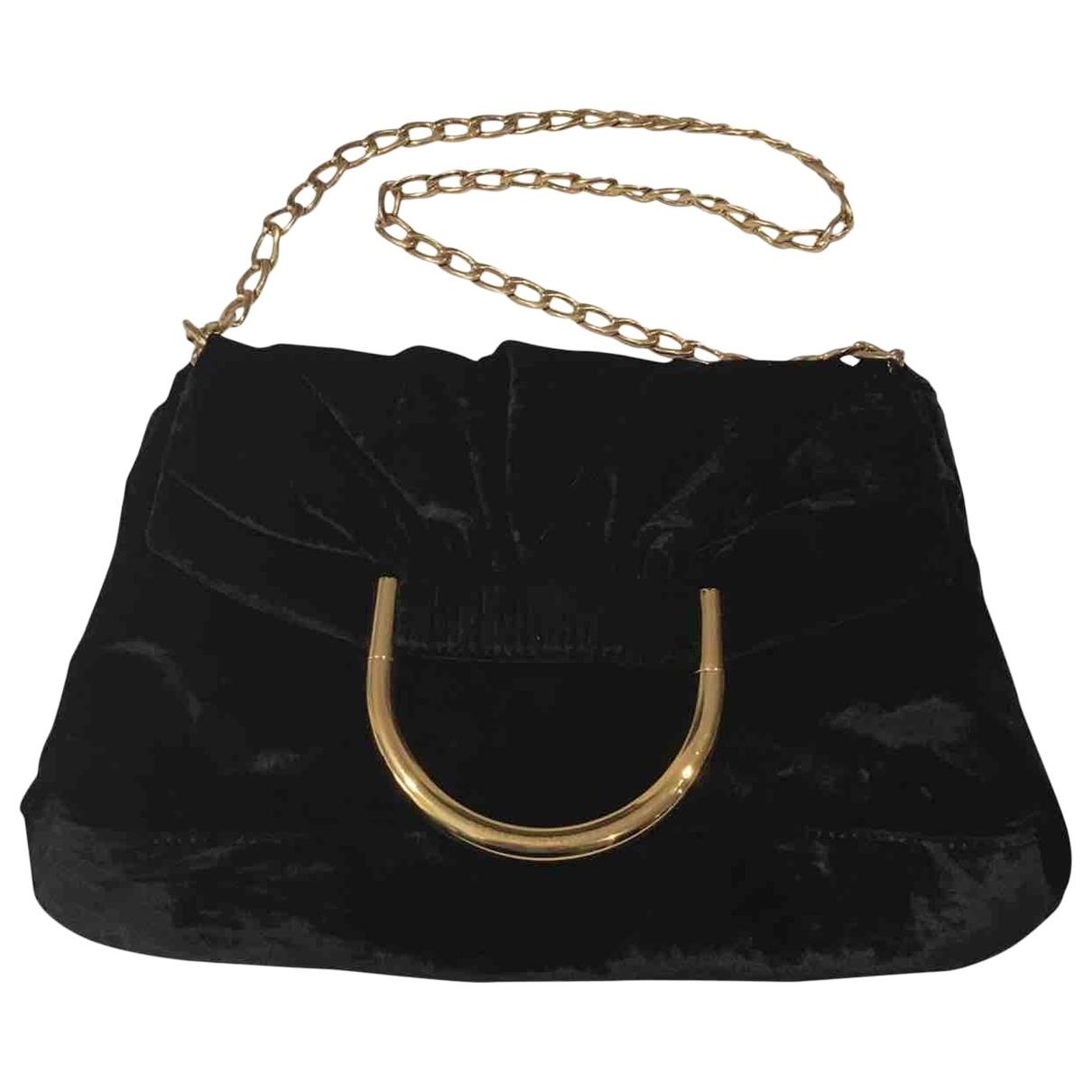 Stella Mccartney \N Black Velvet handbag for Women \N
