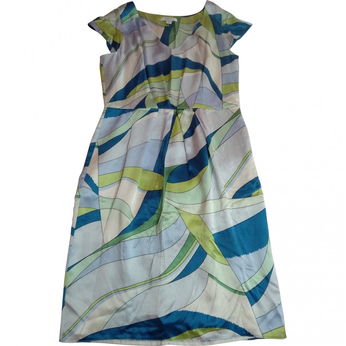 Marella \N Multicolour Silk dress for Women 48 FR