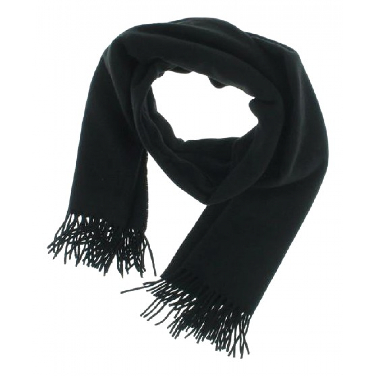 Acne Studios - Foulard   pour femme en laine - noir