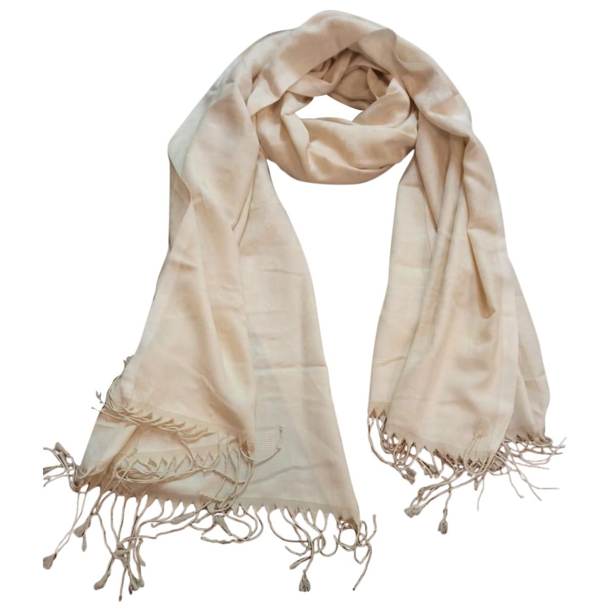 Louis Vuitton N Beige Cotton scarf for Women N