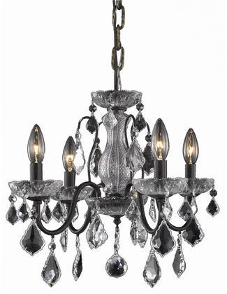 V2015D17DB/SA 2015 St. Francis Collection Pendant Ceiling Light D:17In H:15In Lt:4 Dark Bronze Finish (Spectra   Swarovski