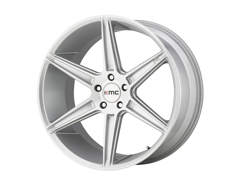 KMC KM711 Prism Wheel 22x9 5x5x115 +20mm Brushed Silver