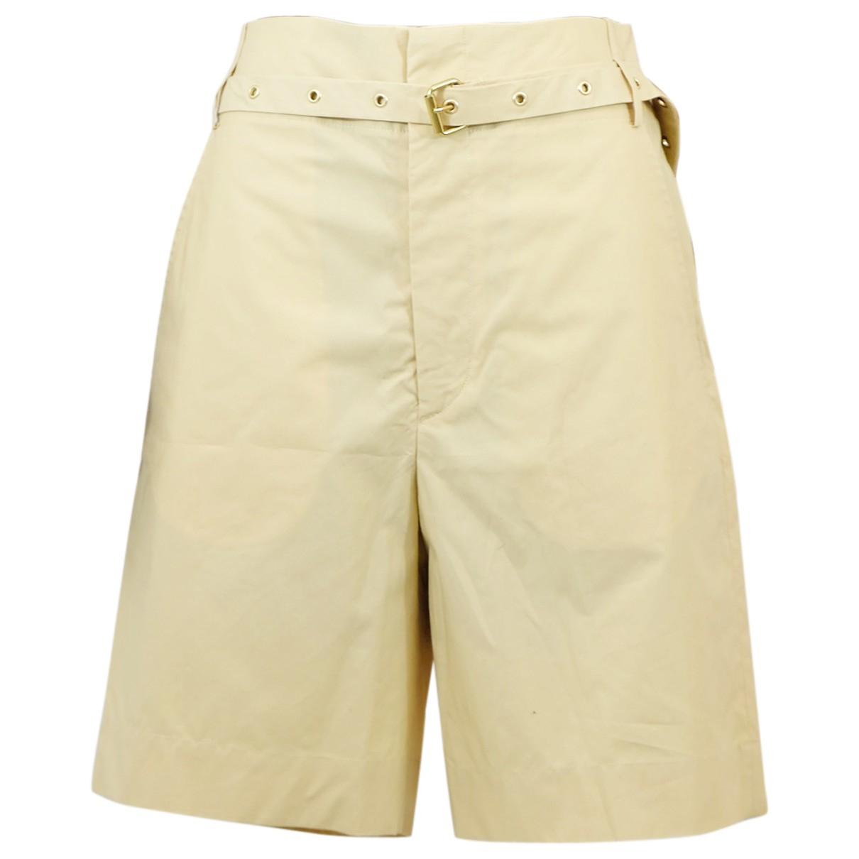 Isabel Marant N Beige Cotton Shorts for Women M International