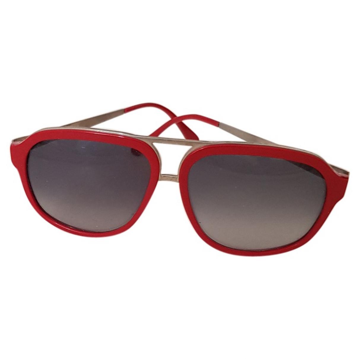 Marni \N Red Metal Sunglasses for Women \N
