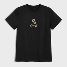 Guys Letter Graphic Tee