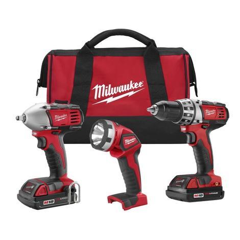 Milwaukee M18™ Cordless Lithium-Ion 3-Tool Combo Kit