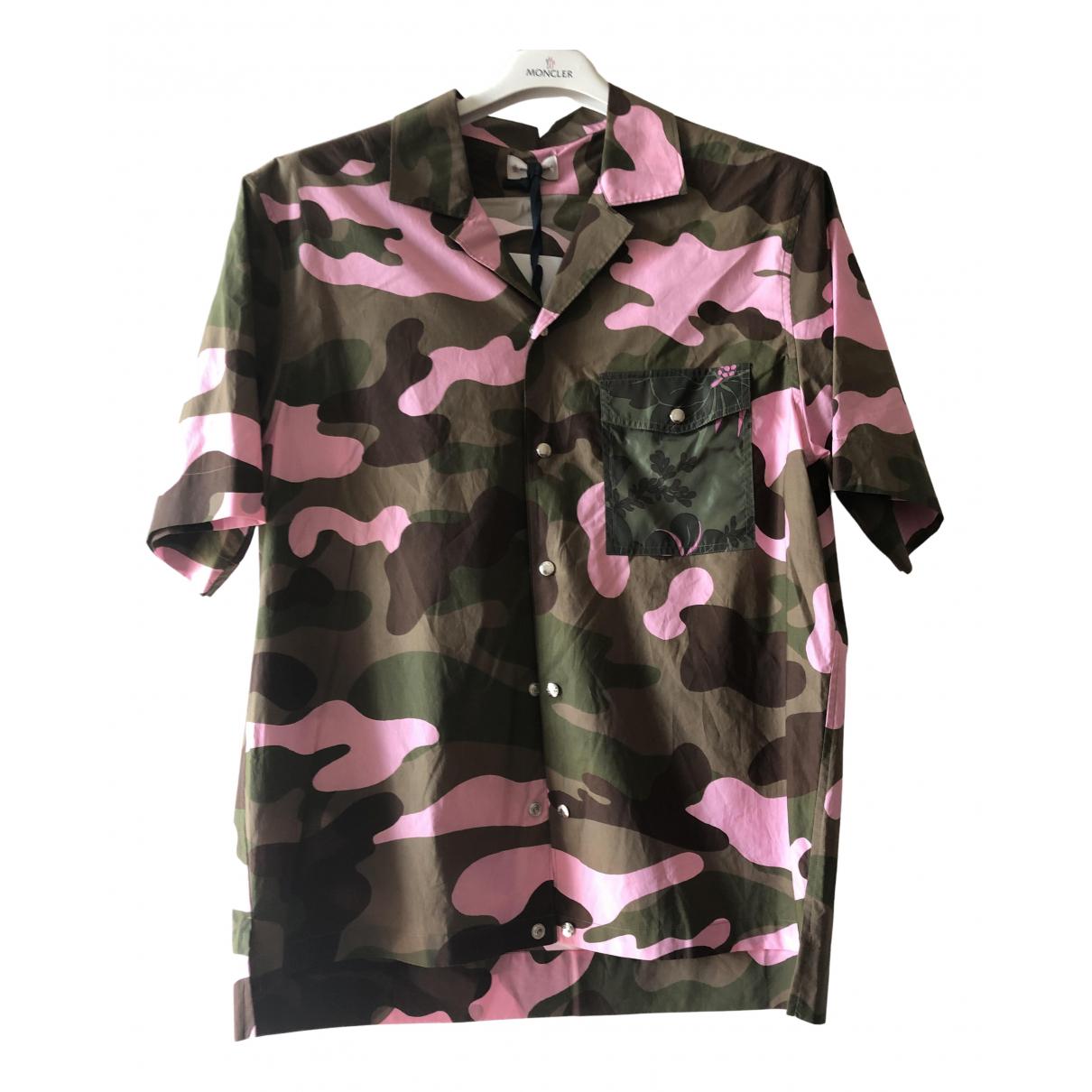 Moncler N Multicolour Cotton Shirts for Men L International