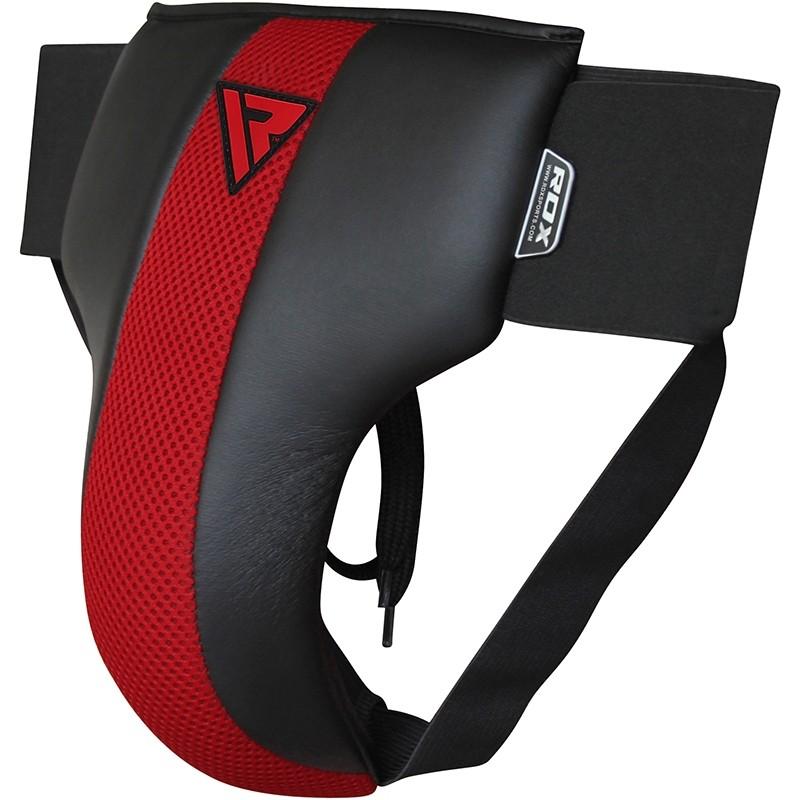 RDX R2 Coquille et Abdominale Protection Petite Rouge noir Cuir PU