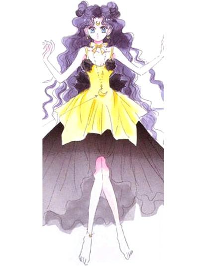 Milanoo Sailor Moon Luna Human Cosplay Costume Halloween