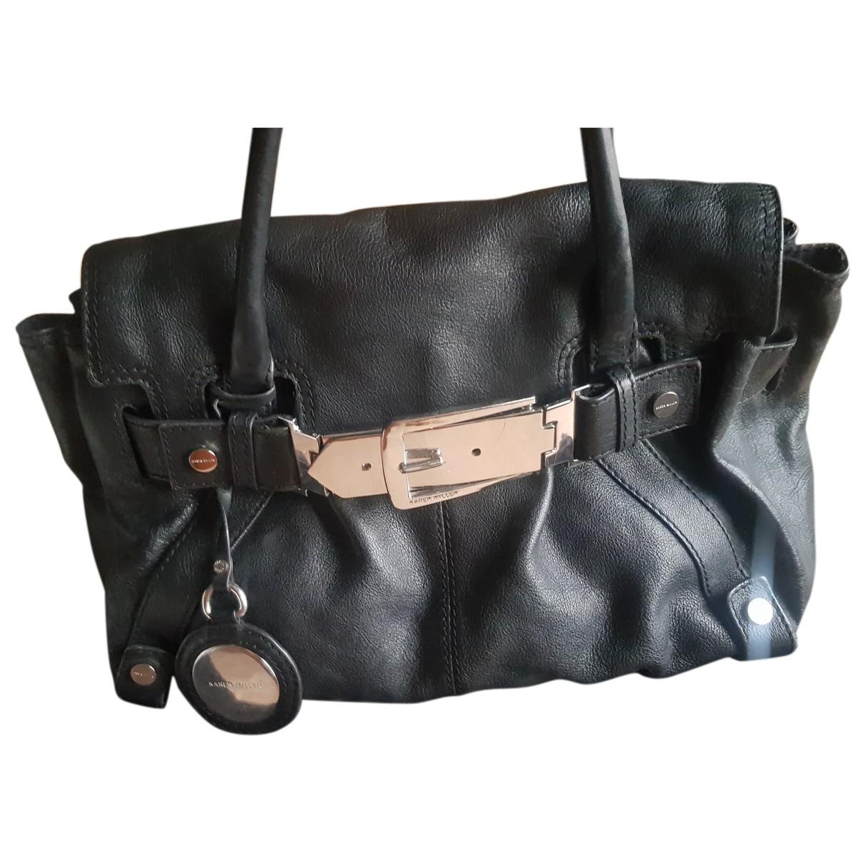 Karen Millen N Black Leather handbag for Women N