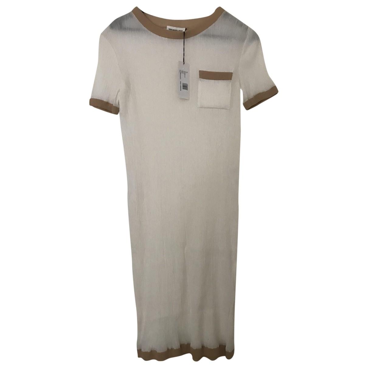 Veronique Leroy - Robe   pour femme en coton - blanc