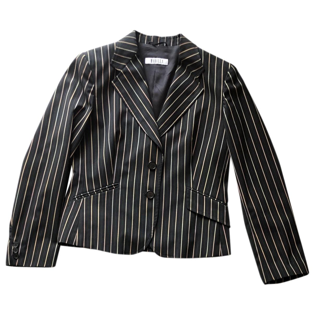 Marella \N Black jacket for Women 46 IT