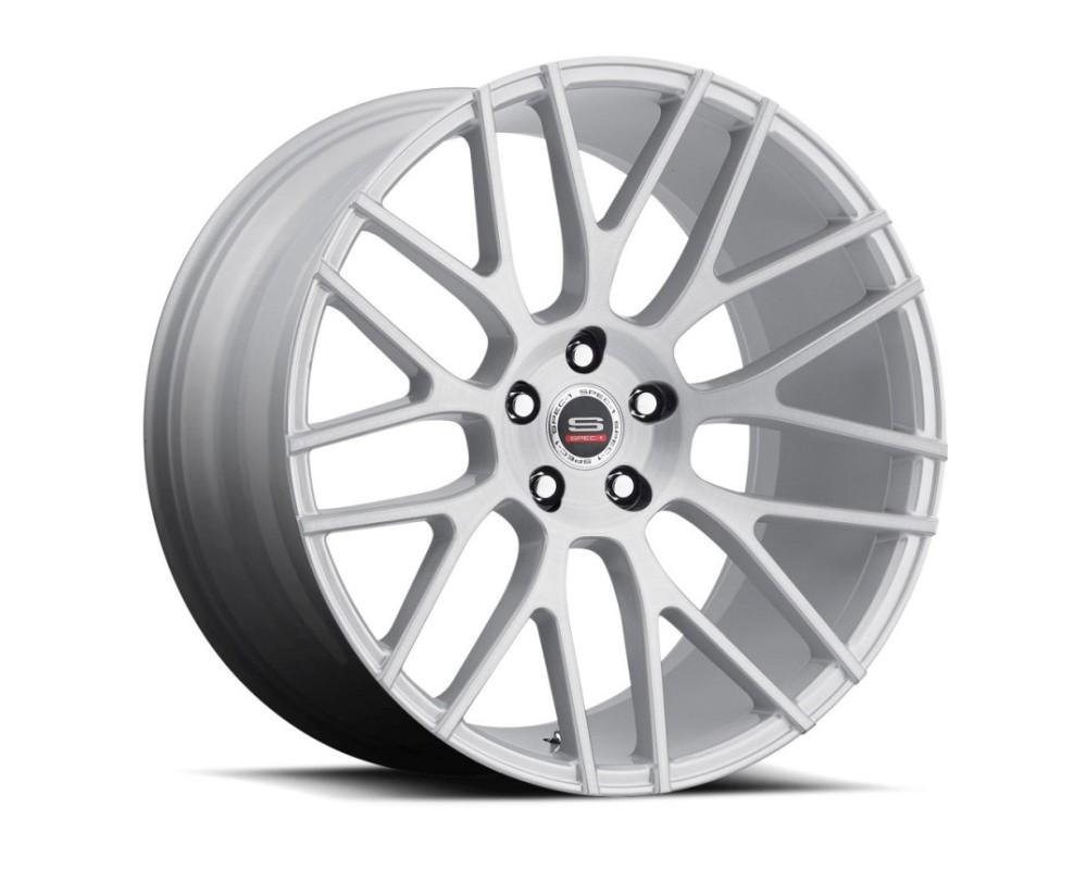 Spec-1 SPL-201 Wheel Luxury Series 20x10.5 Blank 20mm Silver Brushed