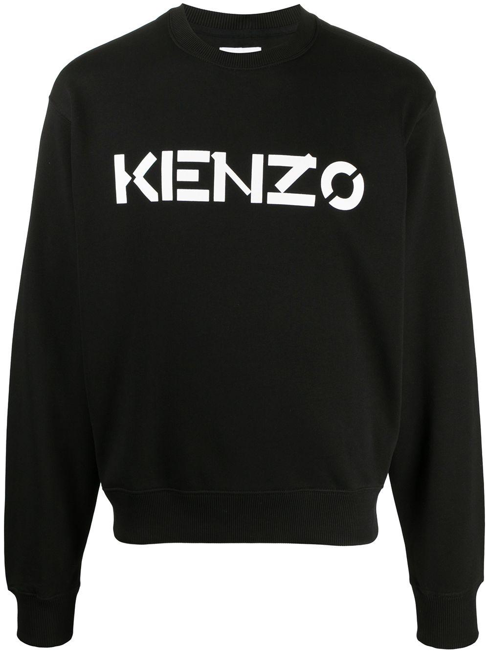 Cotton Logo Print Sweatshirt