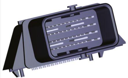 Molex , CMC Automotive Connector Plug 4 Row 48 Way, Solder Termination, Black