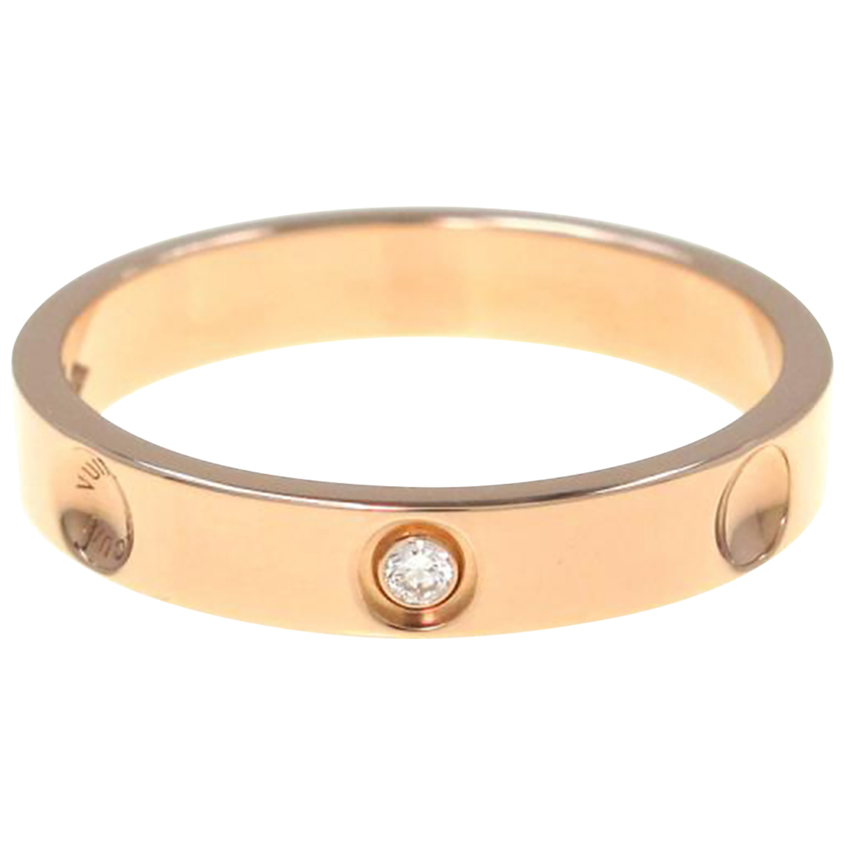 Louis Vuitton - Bague   pour femme en or rose