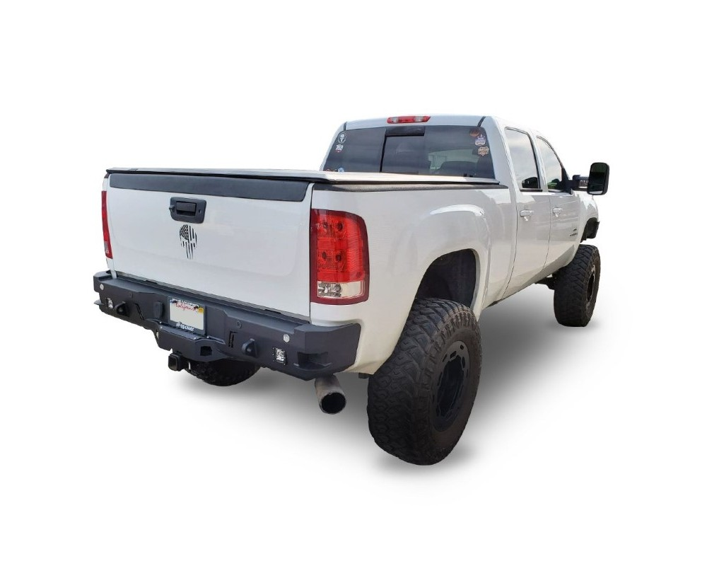 Chassis Unlimited CUB910301 Sierra Rear Bumper For 15-19 Sierra 2500/3500 Sensors Not Included Octane Series