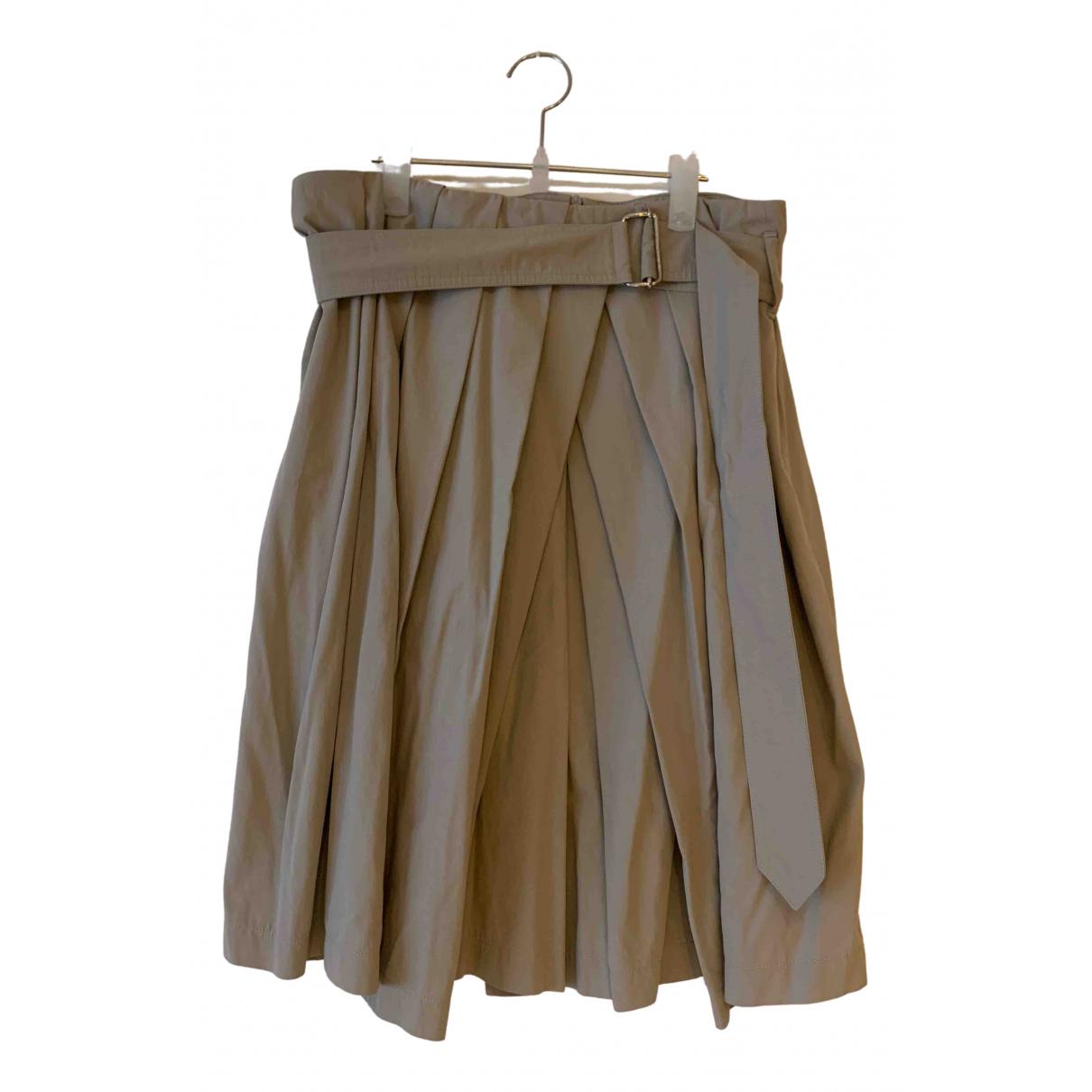 Dries Van Noten N Beige Cotton skirt for Women 36 FR