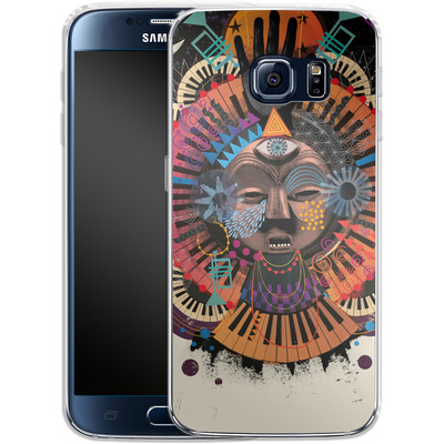 Samsung Galaxy S6 Silikon Handyhuelle - Contretemp von Victoria Topping