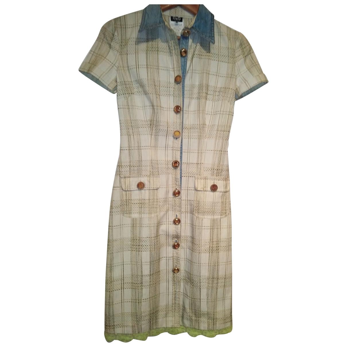 D&g \N Kleid in  Gruen Baumwolle