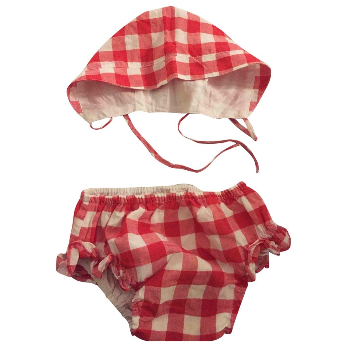 Zara - Les ensembles   pour enfant en coton - rouge