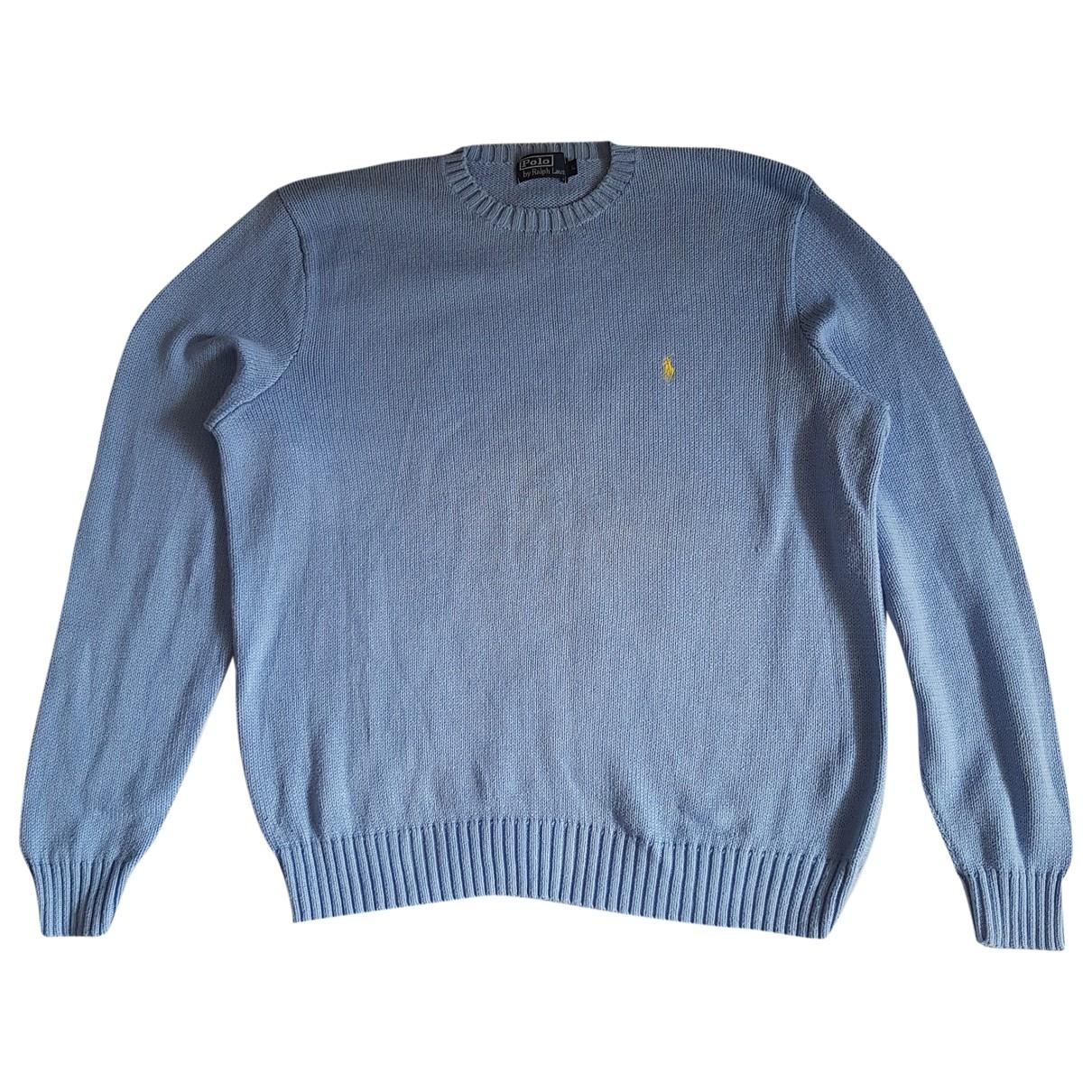 Polo Ralph Lauren \N Blue Cotton Knitwear & Sweatshirts for Men L International