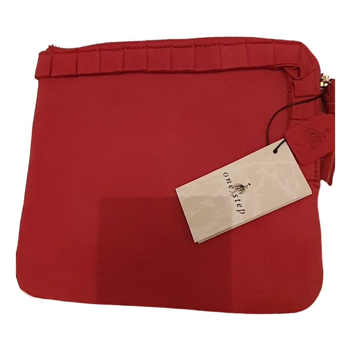 One Step \N Red Leather Clutch bag for Women \N