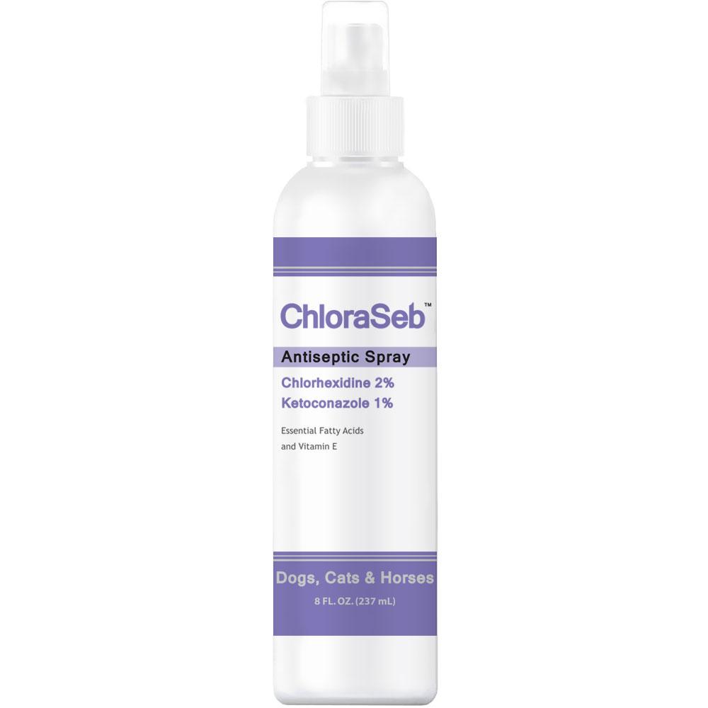 ChloraSeb Antiseptic Spray (8 fl oz)