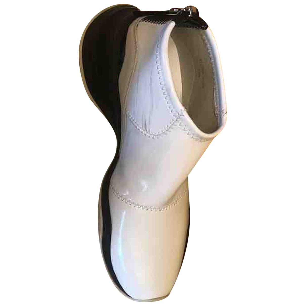 Fendi \N Sneakers in  Weiss Kautschuk