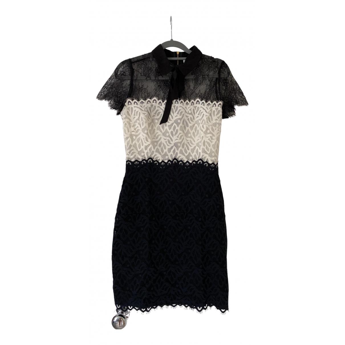 Sandro Fall Winter 2019 Black Lace dress for Women 2 0-5