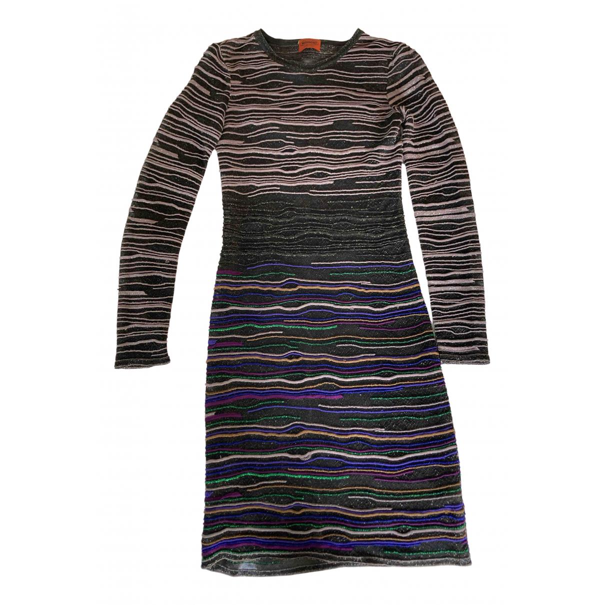 Missoni \N Kleid in  Schwarz Viskose