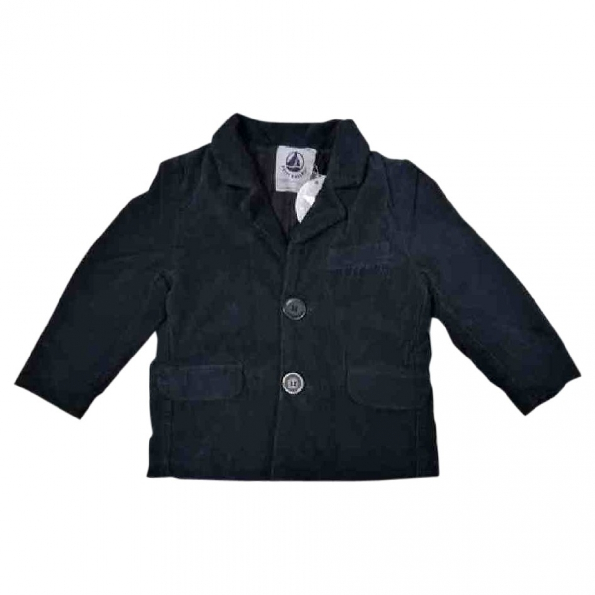 Petit Bateau \N Blue Cotton jacket & coat for Kids 2 years - up to 86cm FR