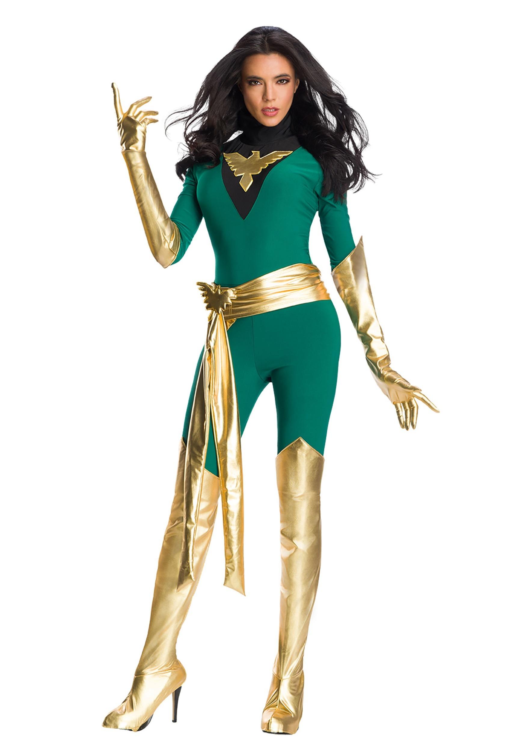 Premium Marvel Jean Grey Phoenix Costume for Women