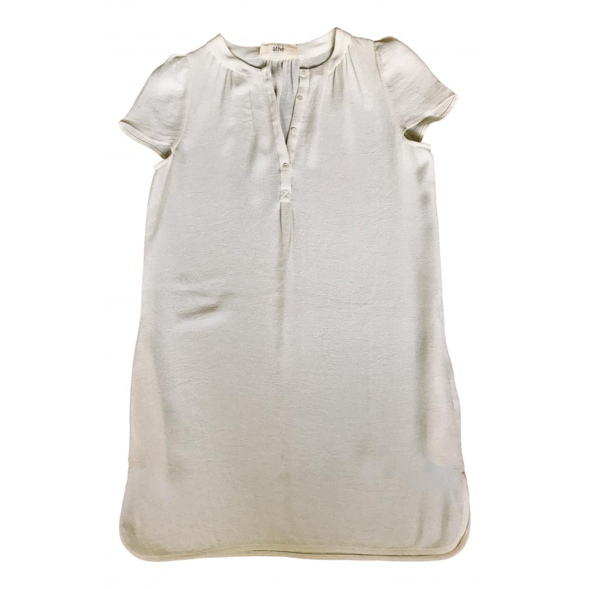 Vanessa Bruno Athe \N Kleid in  Ecru Polyester