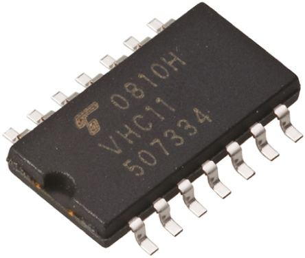 Toshiba TC74ACT00F(F), Quad 2-Input NAND Logic Gate, 14-Pin SOP (5)