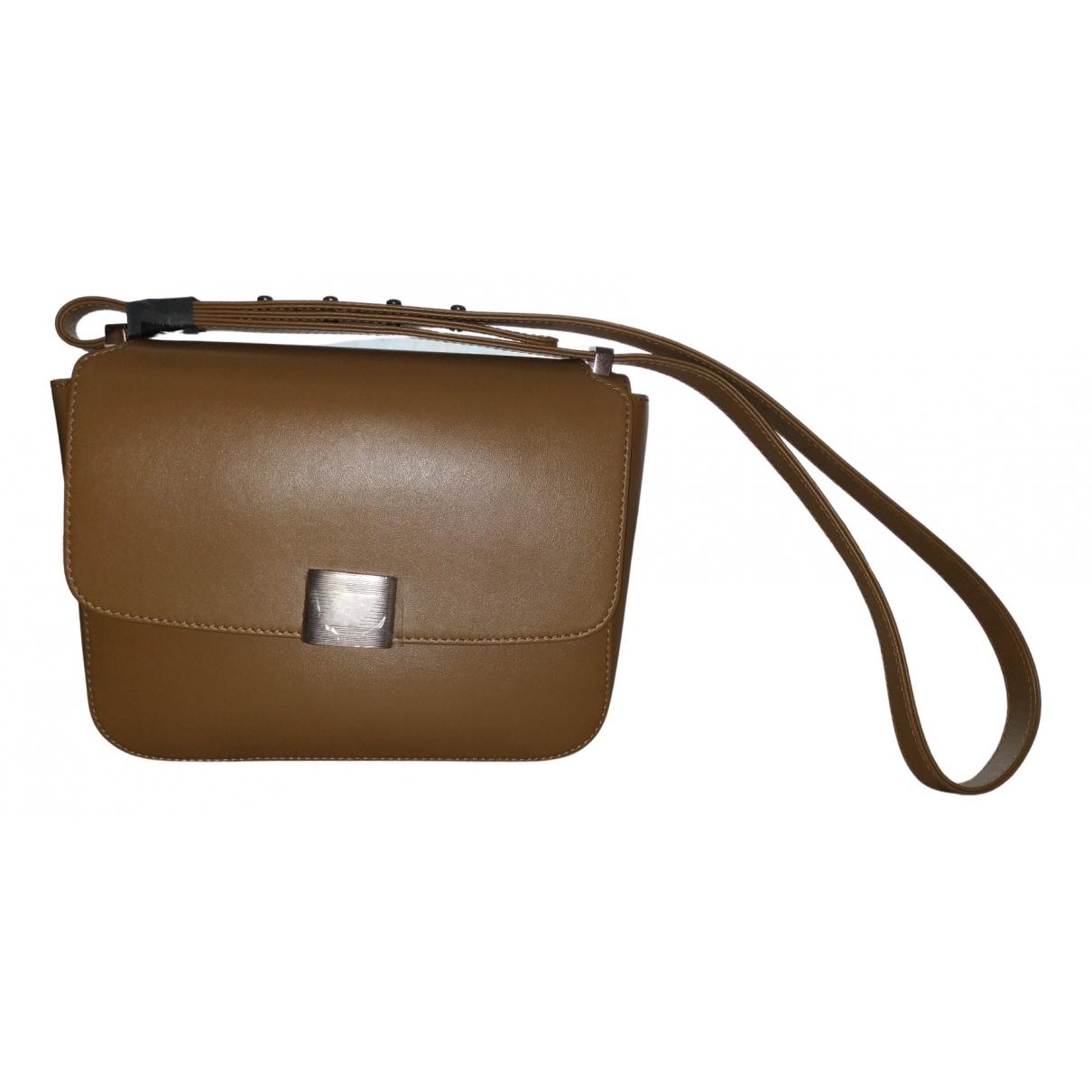 Golden Goose \N Handtasche in  Beige Leder