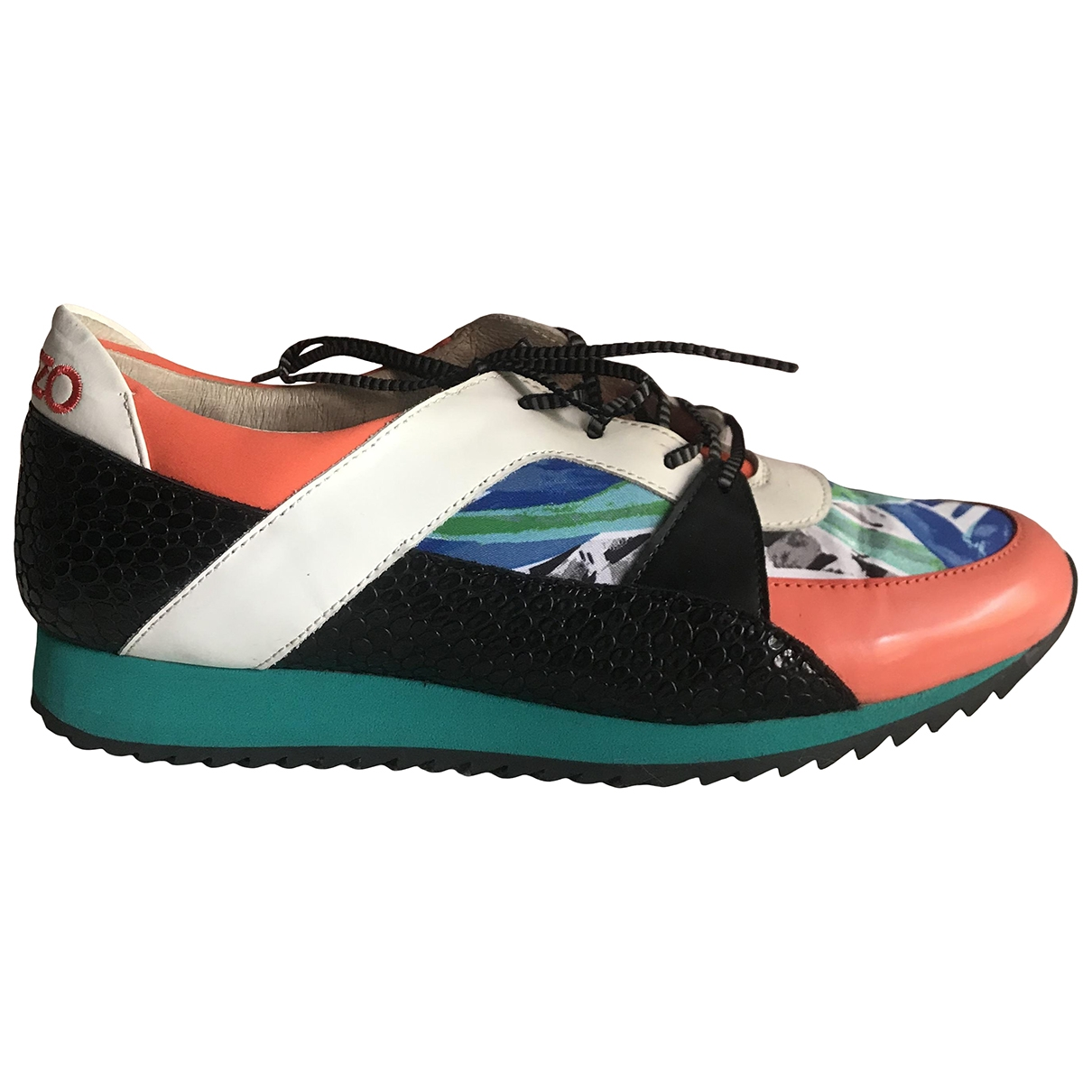 Kenzo \N Multicolour Leather Trainers for Women 37 EU