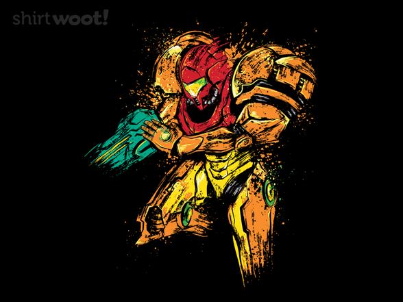Galactic Bounty Hunter T Shirt
