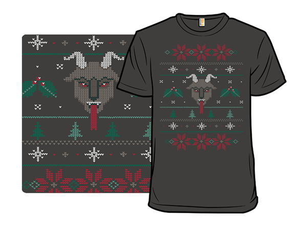 Christmas With Krampus T Shirt