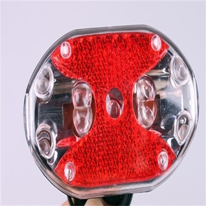 Lumintrail Bright LED Commuter Safety Bike Light Set