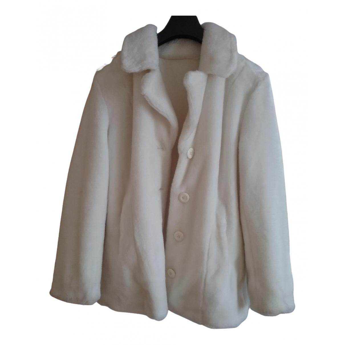 Balmain - Manteau   pour femme - ecru