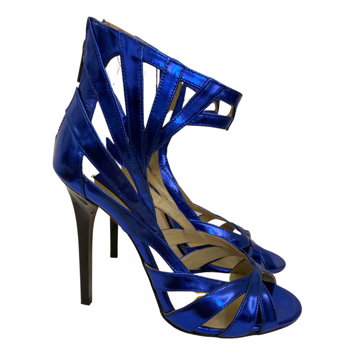 Jimmy Choo For H&m \N Sandalen in  Blau Leder