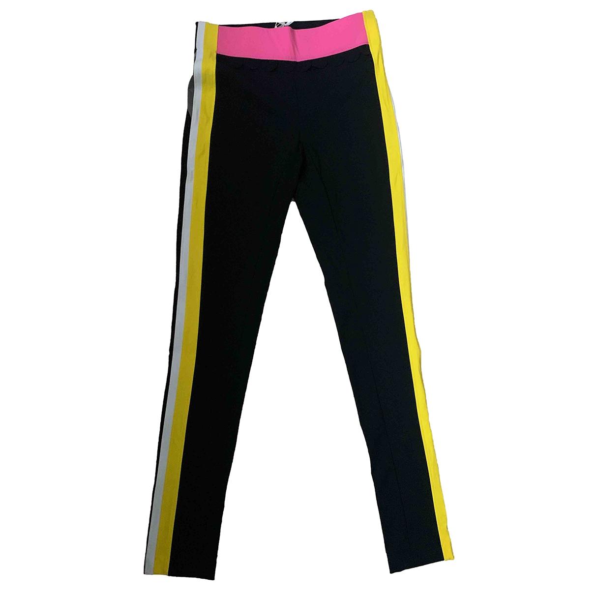 No Ka Oi \N Black Trousers for Women 3 0-5