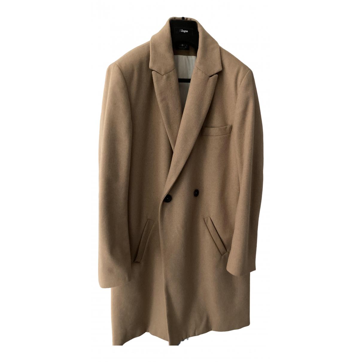 - Manteau   pour homme - camel