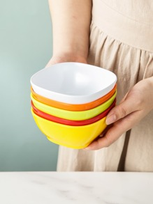 1pc Solid Snack Bowl