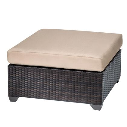 TKC010b-O Belle Ottoman with 1 Cover in