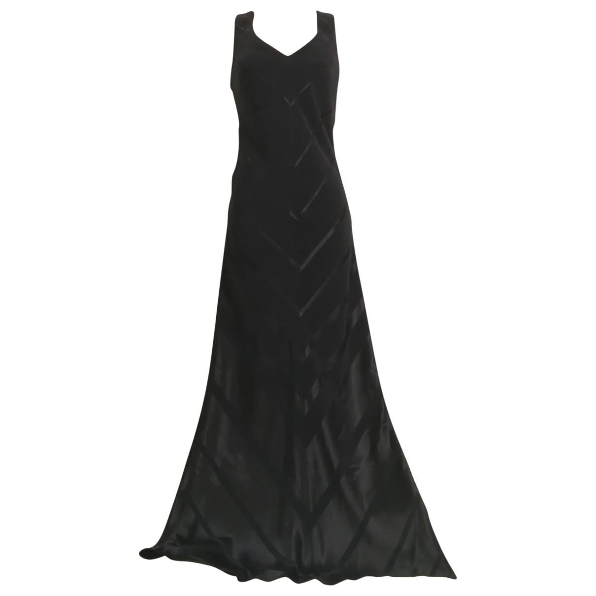 John Charles \N Kleid in  Schwarz Polyester
