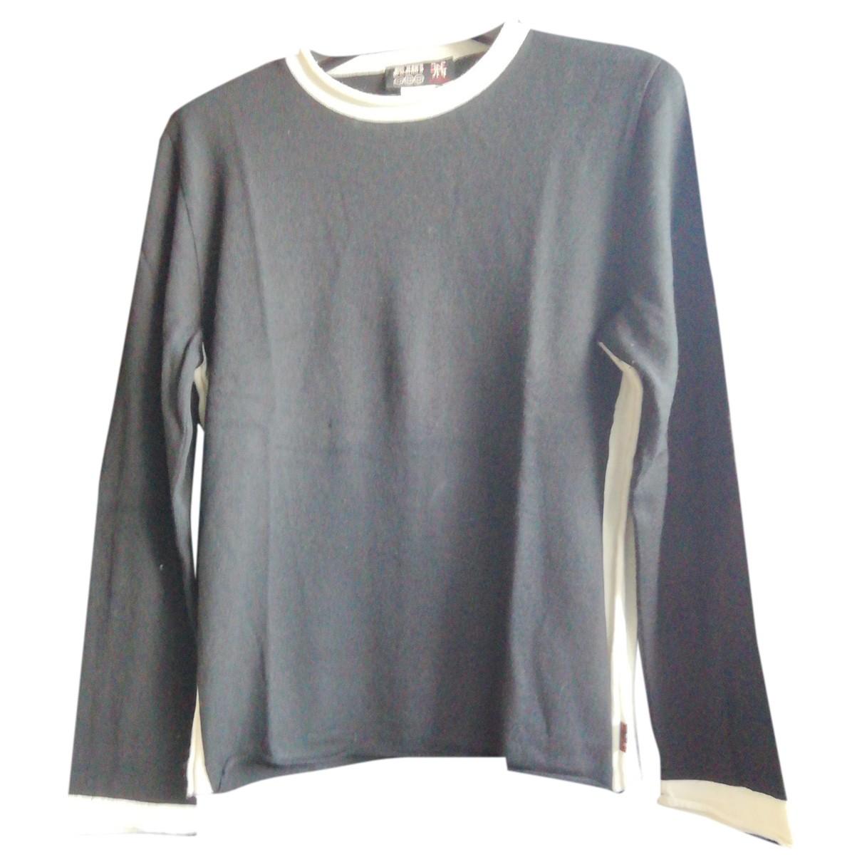 Jean Paul Gaultier \N Pullover.Westen.Sweatshirts  in  Schwarz Wolle